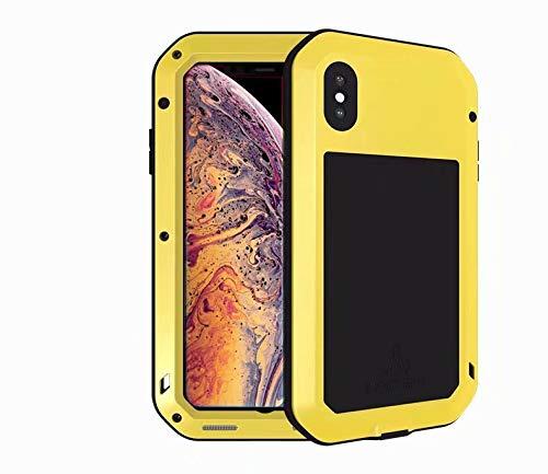 quality design 4489c fccd4 Amazon.com: Case for Xiaomi Mi Max 3, QKKE Aluminum Metal Bumper ...