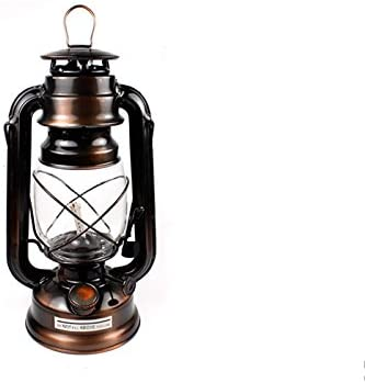 Retro Antique Style Iron Camping Kerosene Alcohol Lamp Oil Light Lantern Decor