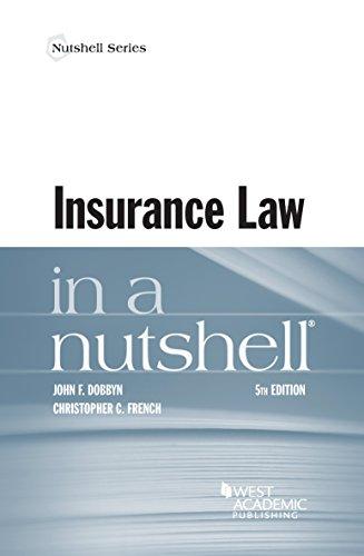 Insurance Law in a Nutshell Pdf