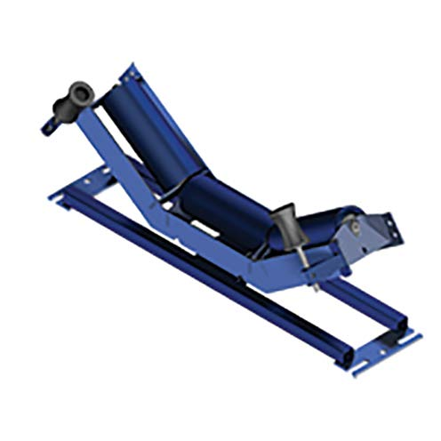 35/° Angle CEMA C Rating Trougher Equal Self Aligner Idler Complete Assembly 30 in Belt Width 4 in Roll Diameter