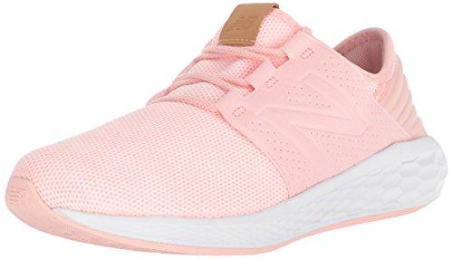 New Balance Girls' Cruz V2 Fresh Foam Running Shoe, Himalayan Pink, 12 M Us Little Kid