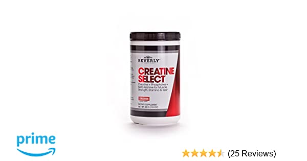 Amazon.com: Beverly International Creatine Select Powder, 40 Servings. We  took the maybe and possibly out of creatine supplements: Health & Personal  Care
