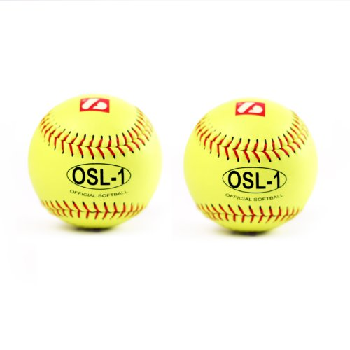 OSL-1 high competition softballs set , size 12'', 2 pieces by Barnett
