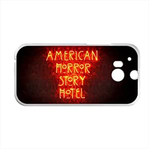 American Horror Story Hotel Personalized Custom Phone Case Back Cover for Case for HTC One M8 (Laser Technology)