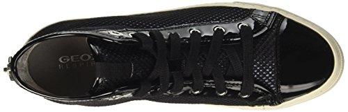 Geox D Giyo - Sneakers Hautes - Femme Noir (Blackc9999)