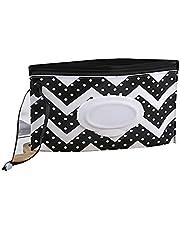 Baby Refillable Wet Wipe Dispenser for Diaper Bag Lightweight Travel Wipes Dispenser Cases