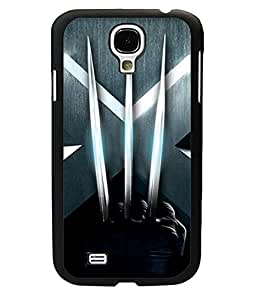 Simple Style Wolverine Logo Samsung Galaxy S4 i9500 Funda Case Snap On New Style Plastic Back Funda Case