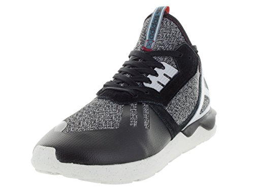 Adidas Mens Tubular Runner Originali Scarpe Da Corsa Nere, Boonix, Owhite