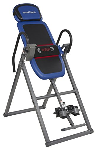 Innova ITM4800 Advanced Heat and Massage Therapeutic Inversion Table (Table Inversion Boots Gravity)