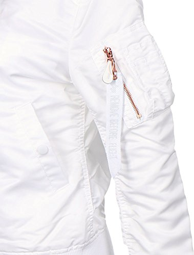 Wmn 1 Jacke White LW Alpha Industries VF MA PYtUwUq
