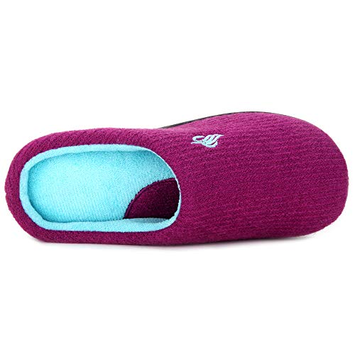 House Slip Foam Wine On Women's Slippers Comfort Clog Anti Sponge French w Terry Slip Sole Lining Memory Slippers IxIv6H