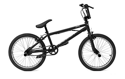 CLOOT Bicicleta BMX-Bici BMX Level con direccion rotativa y 2 reposapies o estribos