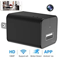 1080P HD Cam USB Wall Charger Adapter
