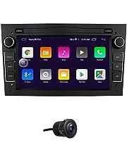 Android 10 Auto GPS-navigatie Fit voor OPEL Antara / Astra / Combo / Corsa C / Corsa D Ondersteuning Stuurbediening Bluetooth Mirror-link FM-radio (zwart)