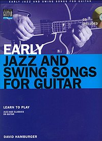 By David Hamburger Early Jazz and Swing Songs for Guitar [Paperback]