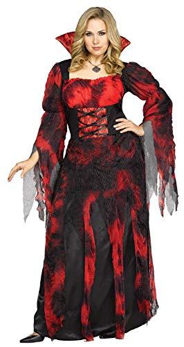 Adult Vampire Countessa Dracula Costume Plus Size -