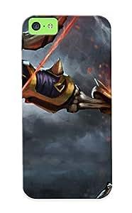 Awesome MRpnWVs9446tjZVA Crazinesswith Defender Tpu Hard Case Cover For Iphone 5c- Clinkz Dota 2