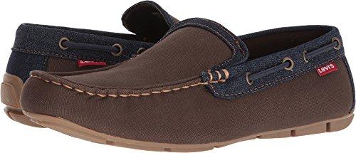 Brown Canvas Dansby Shoes Levi's Mens Denim Navy wqUTCzAx