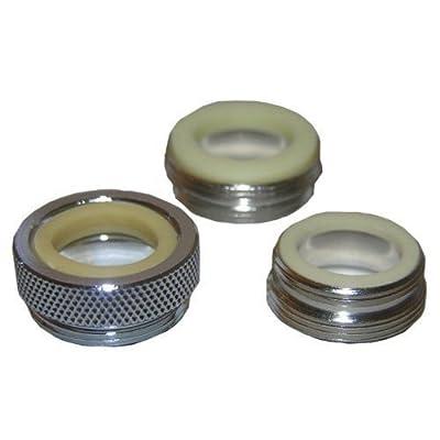 LASCO 09-1661NL No Lead Three Piece Faucet Adapter Kit New