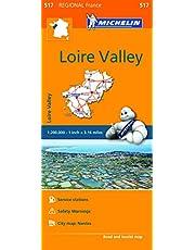 Michelin France: Pays-de-la-Loire Map 517