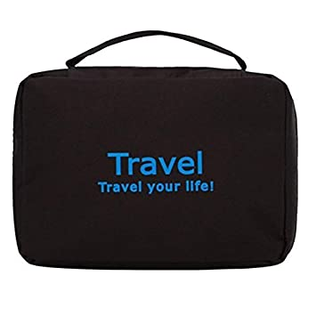 b3f4cdb4218 Inventure Retail Black Toiletry Bag  Amazon.in  Bags, Wallets   Luggage