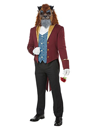 Mens Storybook Beast Disney Prince Costume size XL