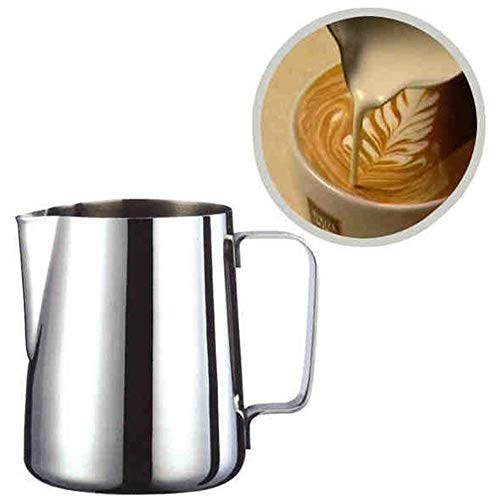 Gotian Stainless Steel Art Milk Pitcher, Milk Craft Coffee Latte Frothing Jug, Pitcher Mug Cup for Making Coffee Cappuccino (200ml)