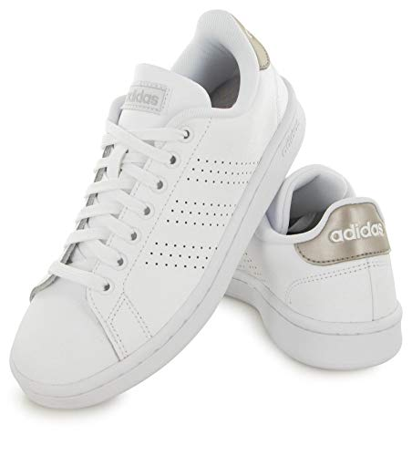 Adidas Baskets Baskets Advantage Adidas Blanc Advantage Blanc x85EpBq