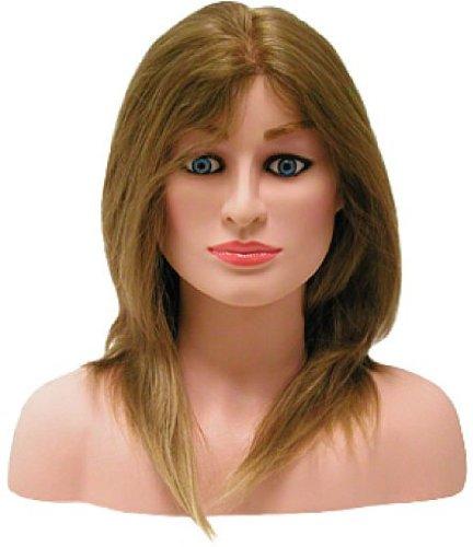 Hairart 12'' Hair Female Competition Mannequin Head (OMC-975) by Hair Art