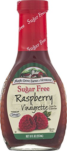 (Maple Grove Farms Sugar Free Salad Dressing, Raspberry Vinaigrette, 8 Ounce (Pack of 12))