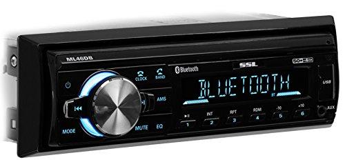 Sound Storm ML46DB Car Receiver - Bluetooth/MP3/USB, FM Radio ONLY (No AM), (No CD/DVD) by Sound Storm Laboratories (Image #3)
