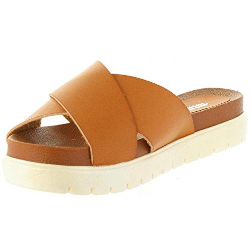 MTNG Sandalias de Mujer 58506 Lily C566 Cuero