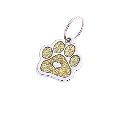chenqiu Dog and cat Hand Seal Jewelry, More Cute and Adjustable Mini Diamond Brand Name pet Jewelry Necklace, pet Commemorative -