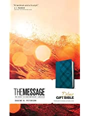 The Message Deluxe Gift Bible (Leather-Look, Crosshatch Denim): The Bible in Contemporary Language