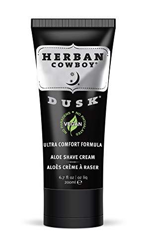 Herban Cowboy Premium Shave Cream, Dusk, 6.7 Ounce ()