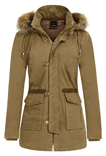 Fur Quilted Parka - 3