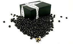 Marich Dark Chocolate Pistachios, 2 lb Bag in a BlackTie Box