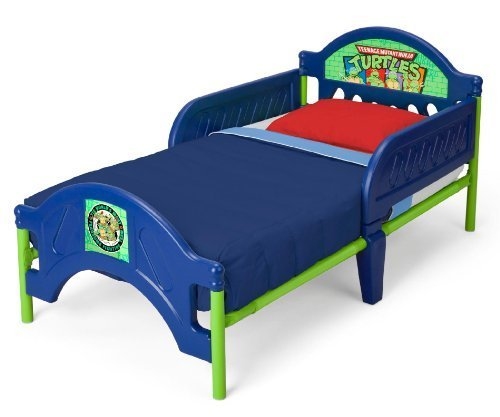 Delta Childrens Nickelodeon Ninja Turtles Toddler Bed Review