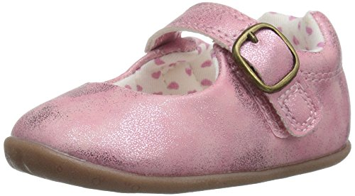 Carter's Every Step Stage 2 Girl's Standing Shoe, Sarah, Pink, 5 M US Toddler