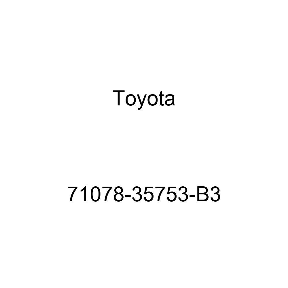 TOYOTA Genuine 71078-35753-B3 Seat Back Cover