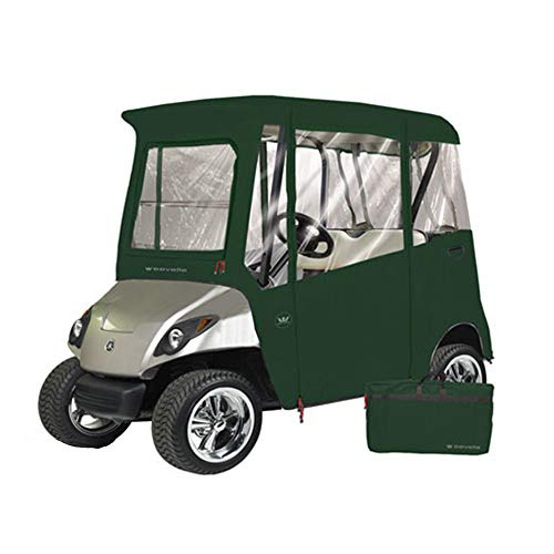 Greenline 2 Passenger Yamaha Drive Golf Cart Enclosure by Eevelle, Heavy Duty Vinyl Backed 300D (Custom Ez Go Golf Carts For Sale)