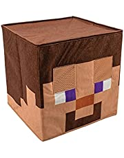Disguise Minecraft Creeper Block Head for Adults