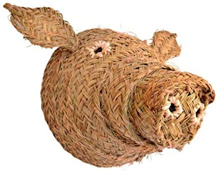 BicocaWeb Cabeza de Cerdo de Esparto