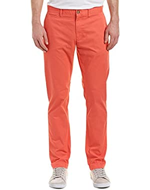 Mens Slim Fit Pant, 32, Pink