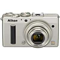 Nikon digital cameras COOLPIX A DX format CMOS sensor with 18.5 mm f/2.8 NIKKOR lens with ASL silver