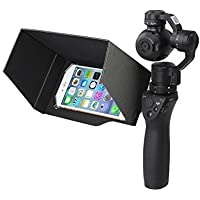 Drone Fans 5.5in Phone Sunhood Iphone Sunshade for DJI OSMO and OSMO Plus Handheld Gimbal