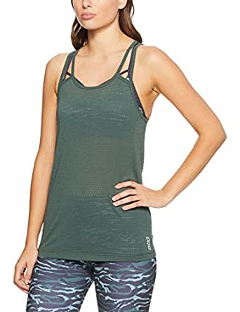 Lorna Jane Women Candice Active Tank, Military, X-Small