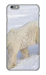 Exultantor Protection Case For Iphone 6 Plus / Case Cover For Christmas Day Gift(animal Polar Bear)