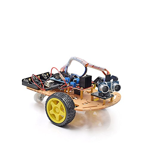 Active Components Electronic Components & Supplies 2019 New Style Avoidance Tracking Motor Smart Robot Car Chassis Kit Speed Encoder Battery Box 2wd Ultrasonic Module For Arduino Kit 2019 New Fashion Style Online