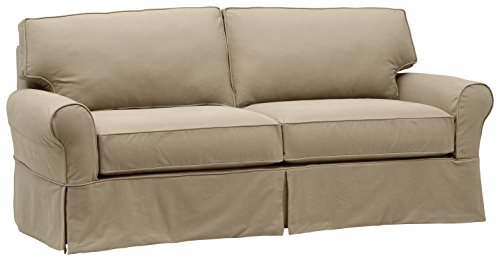 Stone & Beam Carrigan Modern Slipcover Sofa, 88.5